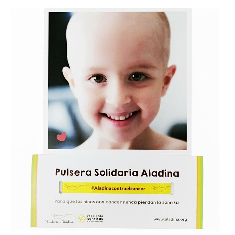 ¨Pack para celebraciones con pulseras solidarias y tarjetones fundación aladina