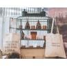 Bolsas algodón reutilizables solidarias