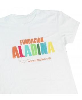 Camiseta solidaria para chico Fundación Aladina