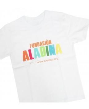 Camisetas solidarias contra el cáncer Fundación Aladina