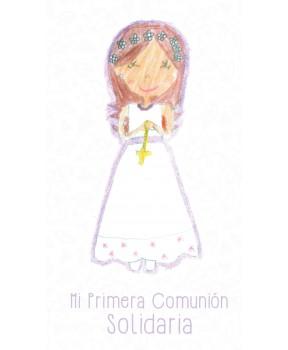 Recordatorio niña comunión