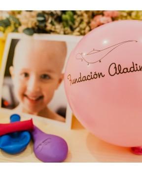 Globos solidarios Fundación Aladina
