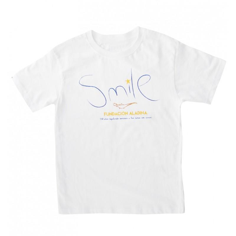 Camiseta solidaria contra el cáncer Smile