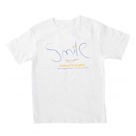 Camiseta infantil Smile
