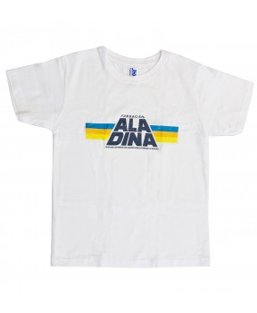 Camiseta star Aladina niños blanca
