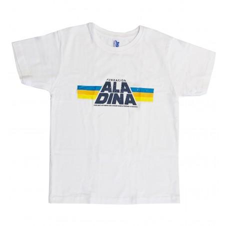 Camiseta infantil blanca Star Aladina