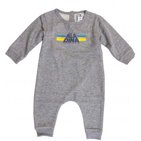 Body bebé Star Aladina gris
