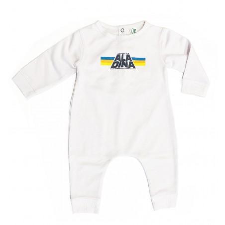 Body bebé Star Aladina blanco