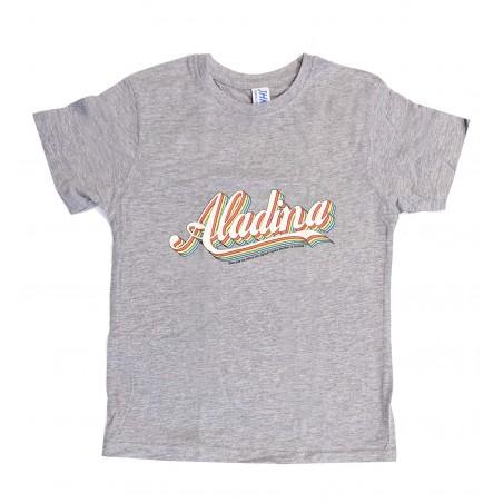 Camiseta infantil Aladina gris
