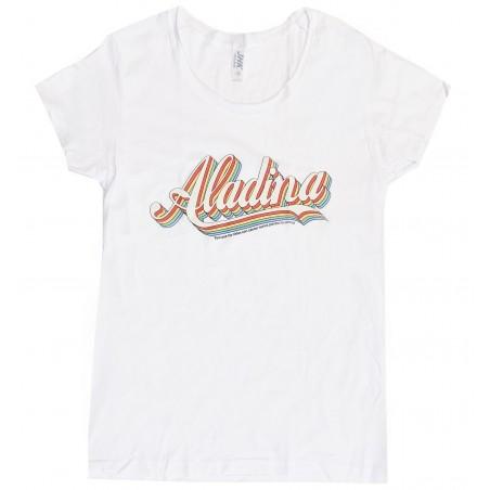 Camiseta mujer blanca Aladina