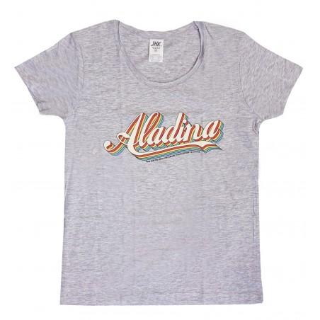 Camiseta mujer gris Aladina