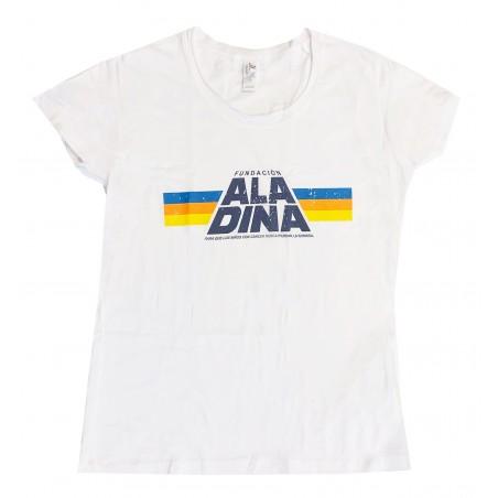 Camiseta mujer blanca Star Aladina