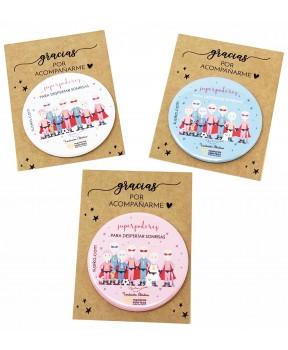 Espejitos de bolsillo solidarios Fundación Aladina