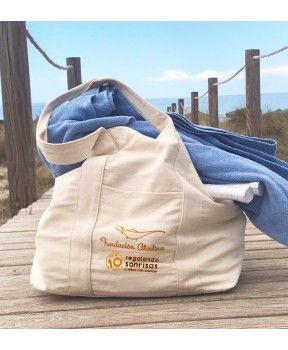 Bolsa de playa solidaria Fundación Aladina