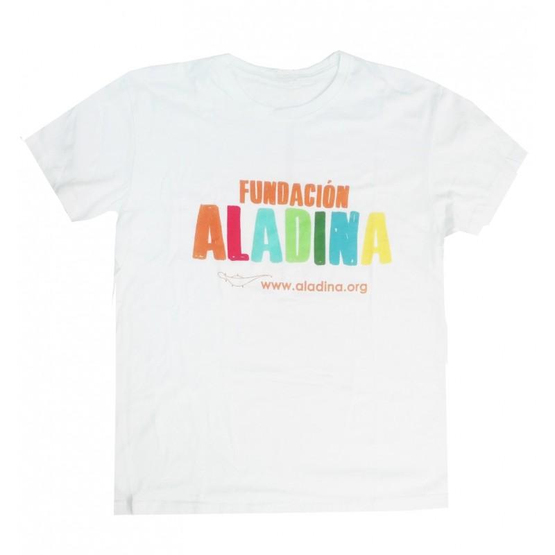 Camiseta unisex solidaria Fundación Aladina