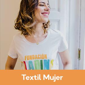 Camisetas solidarias para mujer | Tienda Fundación Aladina